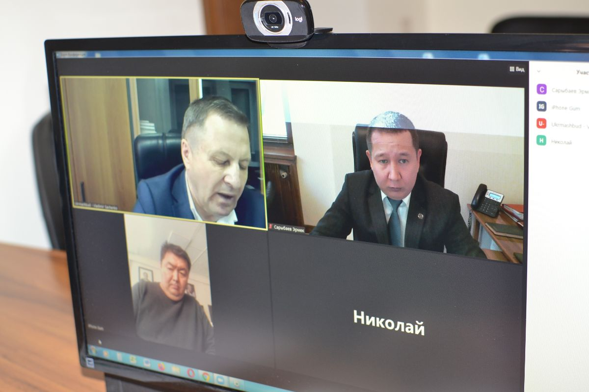 On 26th of January, 2021, at the initiative of the Embassy of the Kyrgyz Republic in Ukraine, a meeting was held between the State Enterprise