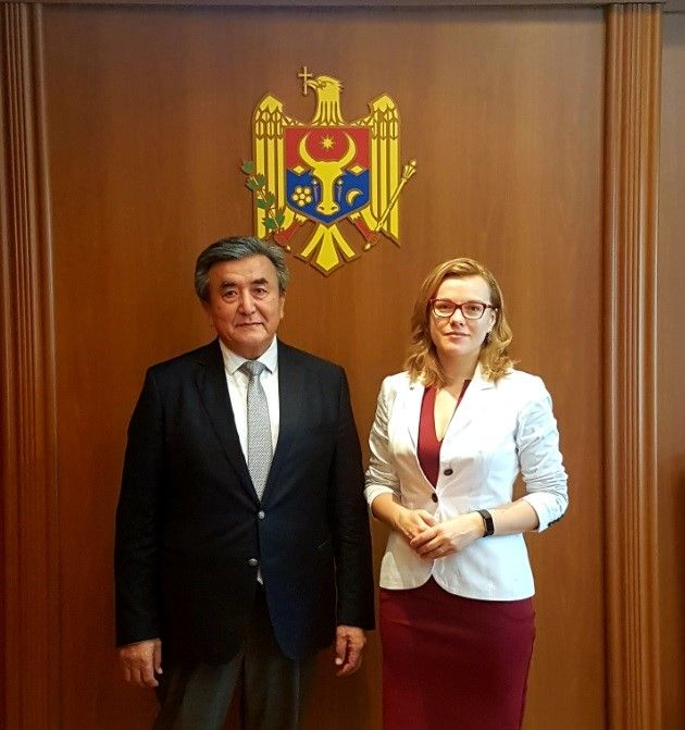 Ambassador Extraordinary and Plenipotentiary of the Kyrgyz Republic to Ukraine and in the Republic of Moldova Zh. Sharipov took part in the solemn ceremony of assuming the office of the Head (Bashkan) of the Gagauzia, the Republic of Moldova, I.Vlah.
