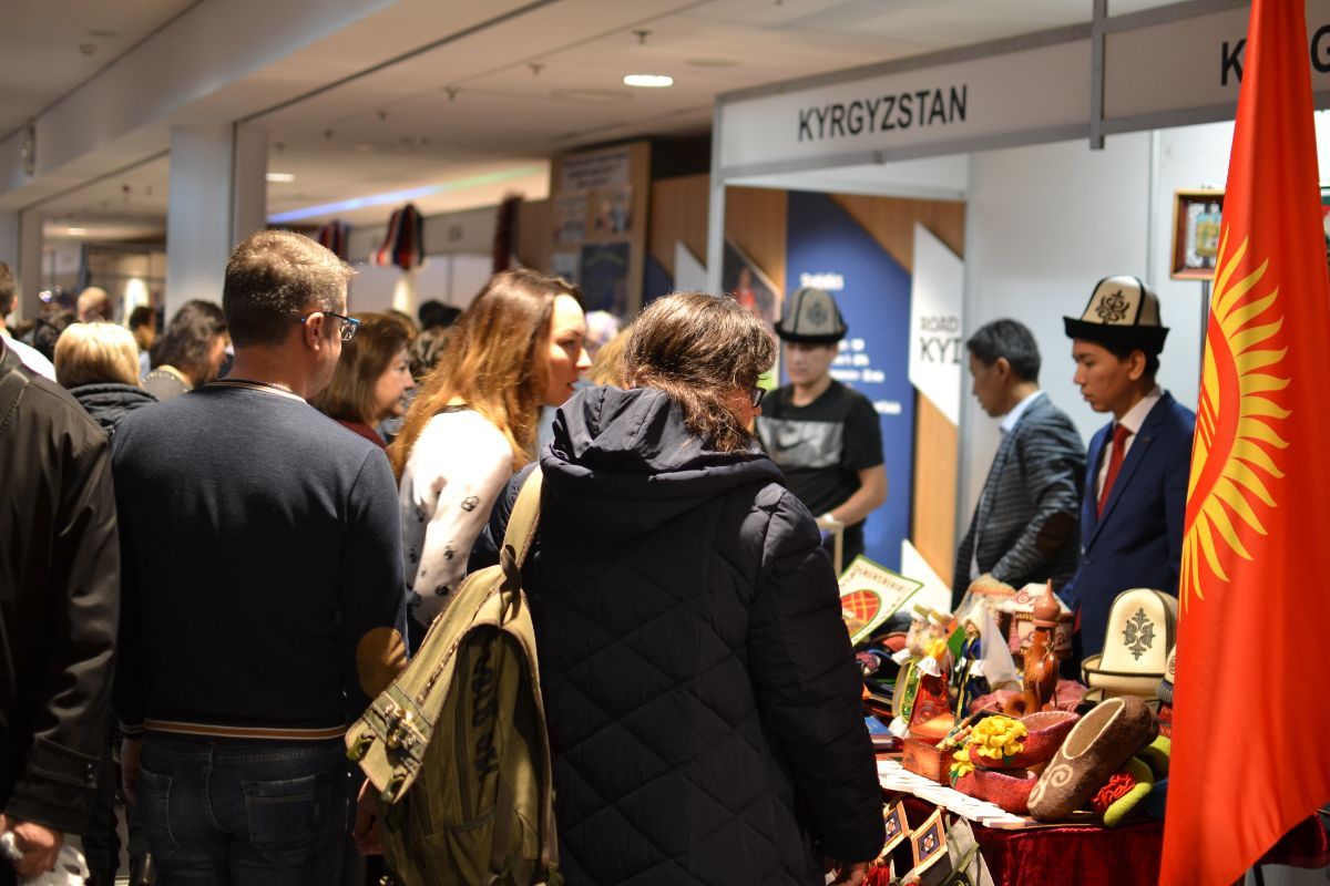 On November 30, 2019, the Embassy of the Kyrgyz Republic in Ukraine took part in the annual charity fair organized by the International Women's Club in Kyiv.