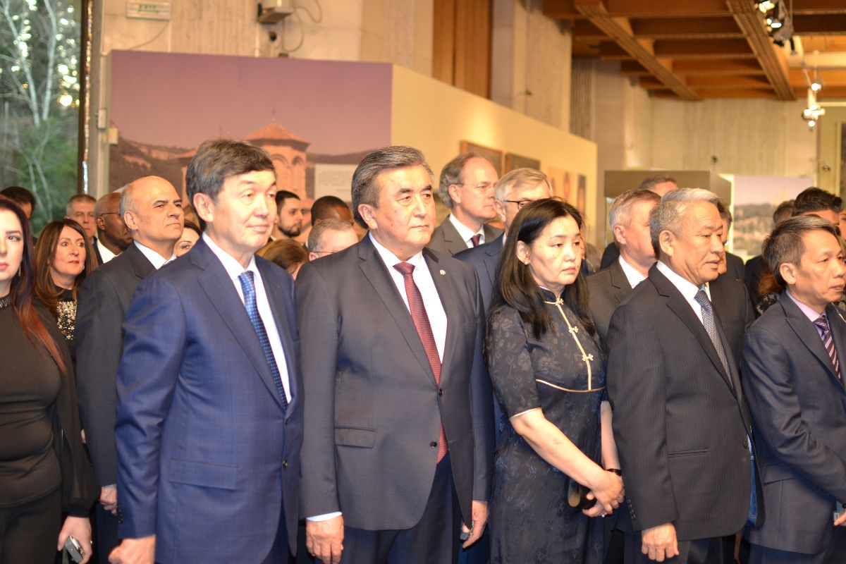 On January 30, 2020, the Ambassador of the Kyrgyz Republic to the Republic of Bulgaria, with a residence in Kyiv city, Zhusupbek Sharipov attended the annual meeting of the President of the Republic of Bulgaria Rumen Radev with the heads of diplomatic missions and international organizations accredited in Bulgaria, which was held at the National History Museum of the Republic of Bulgaria.