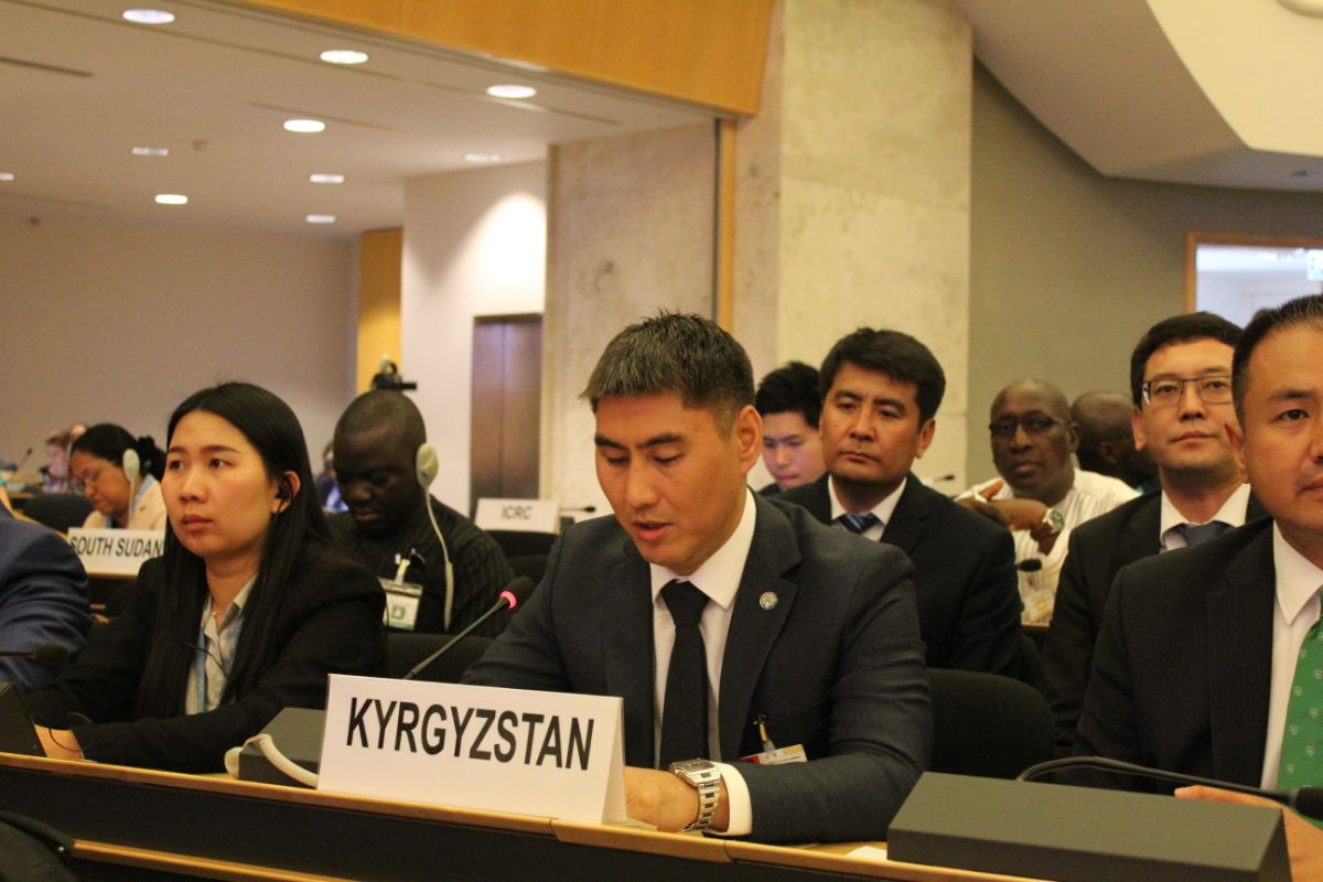 "Minister Chingiz Aidarbekov: ""Kyrgyzstan is the first country in the world to get rid of statelessness"""